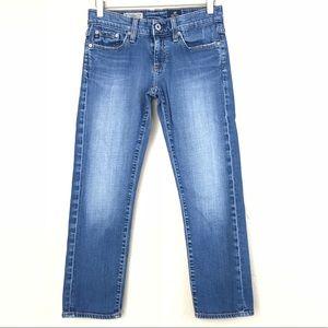 "AG ""The Tomboy Crop"" Straight Leg Jean Size 25"